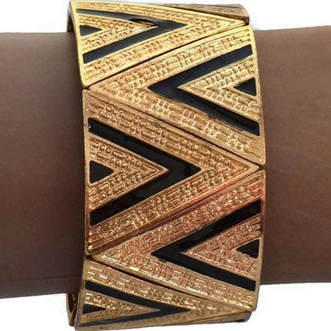 Statement Bracelets Aztec Triangular Bracelet Wear With Love