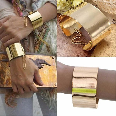 Statement Bracelets Cleopatra Gold Cuff Bracelet Wear With Love