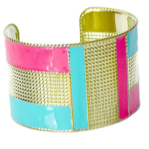 Statement Bracelets Gold Aztec Style Cuff Bangle Wear With Love