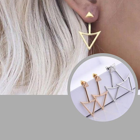 Studs Earrings Bijoux Modern Arrow Stud Earring Wear With Love