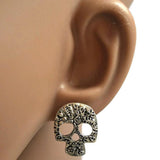 Studs Earrings Floral Stud Earrings. Wear With Love