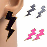 Studs Earrings Funky Retro Zig Zag Stud Wear With Love