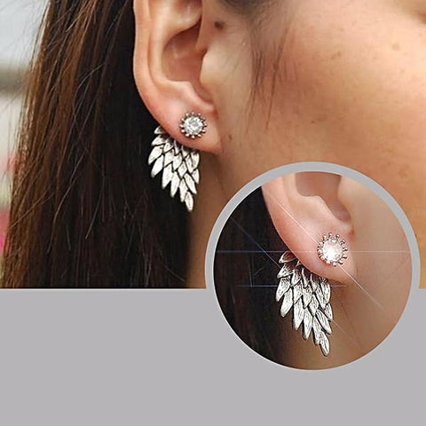 Studs Earrings Zena Ear Jacket Stud Wear With Love