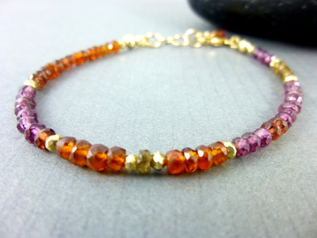 gemstone yellow i silver diamond vault fine sterling gold and multi bracelet jewelry