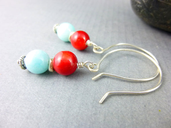 Southwestern Style Chakra Earrings - Earth Energy Gemstones
