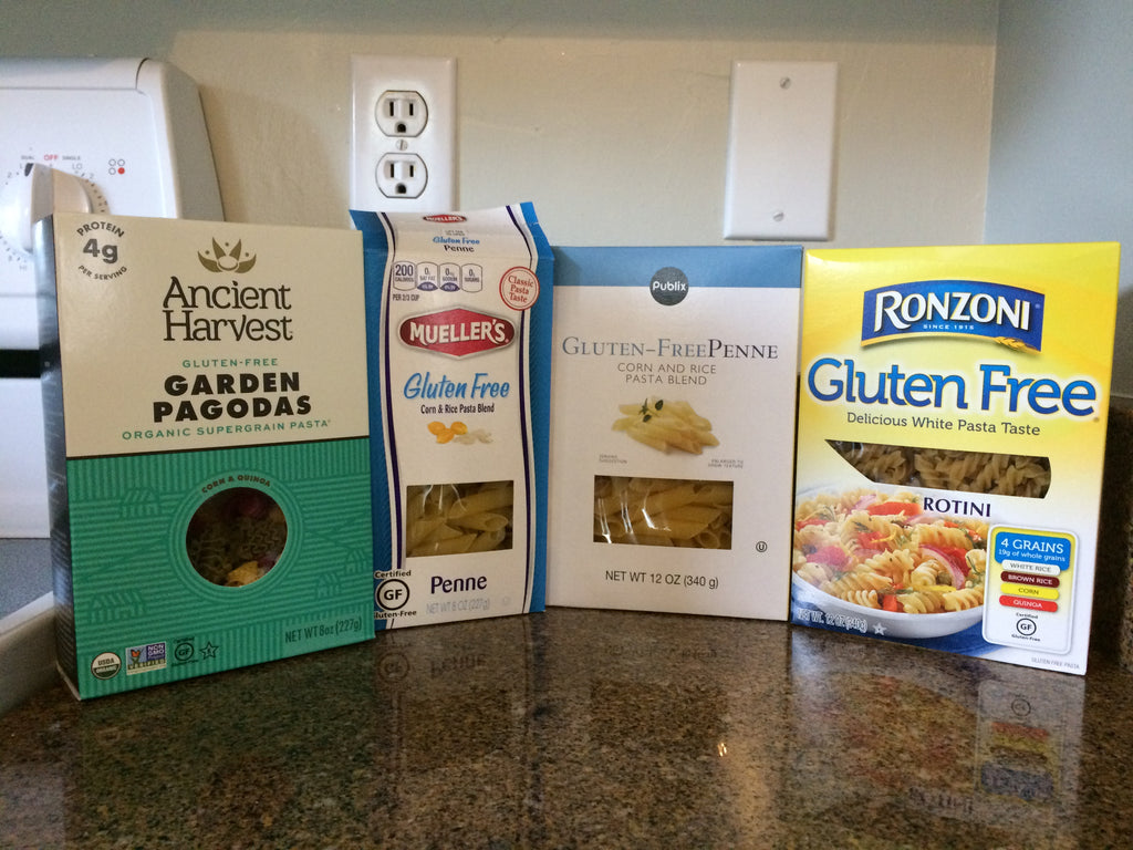 We tested 4 gluten free pastas...here's our favorite