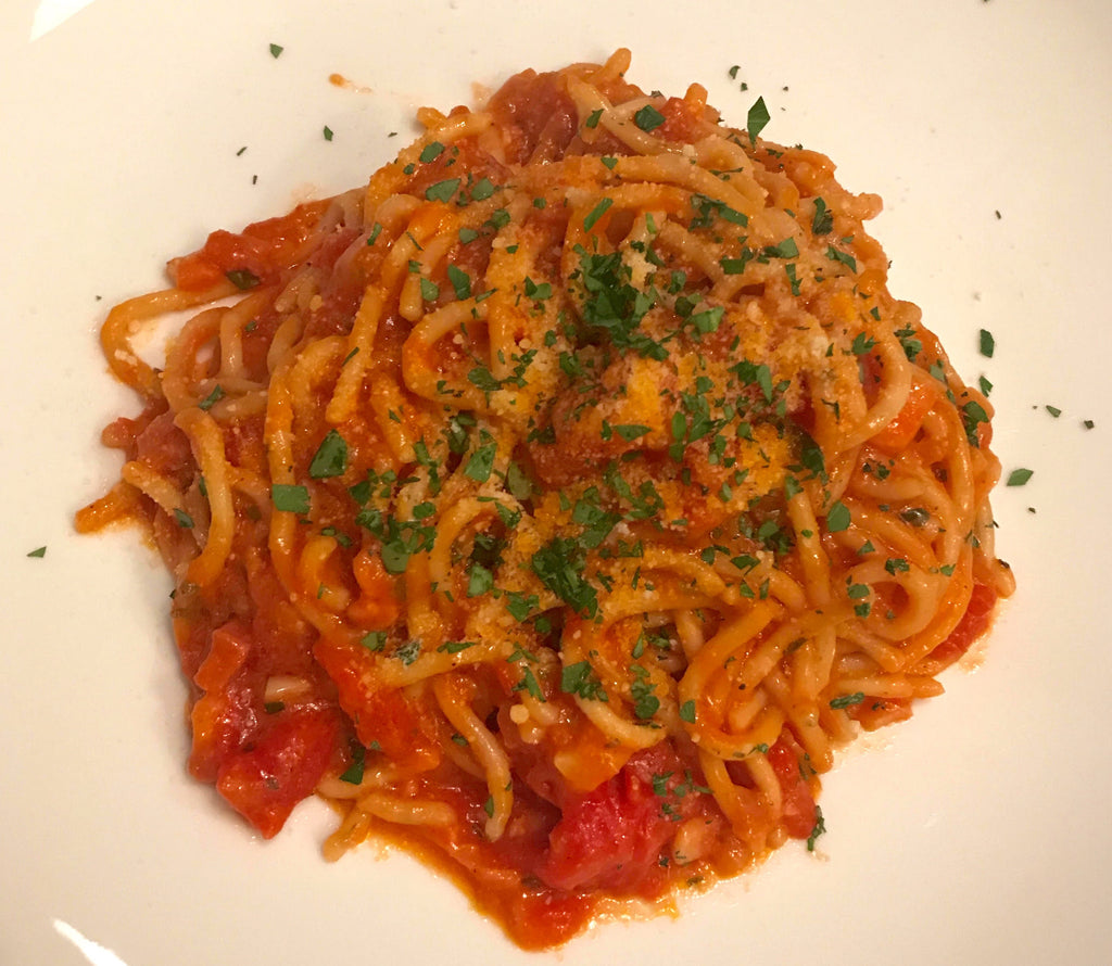 Gettin' saucy in the kitchen: Dan's go-to weeknight pasta dish