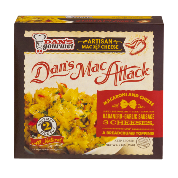 Dan's Mac Attack Mac & Cheese