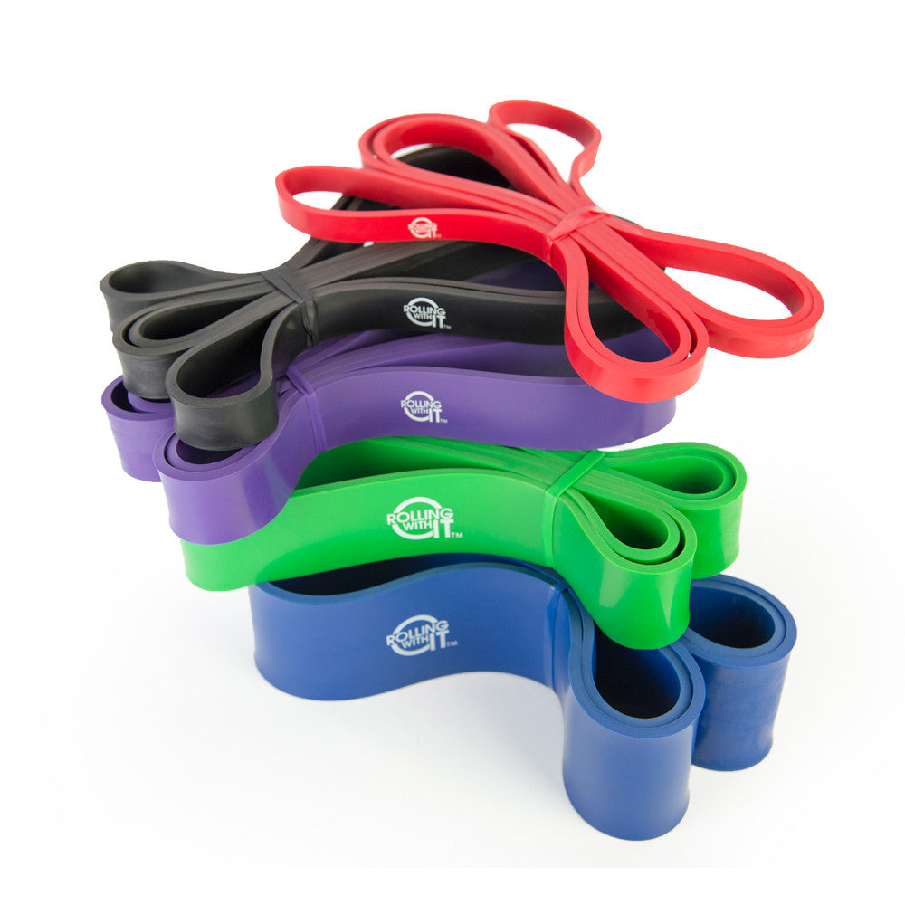 41 Inch Mobility & Stretch Resistance Bands – Perfect for any Band Training Exercises