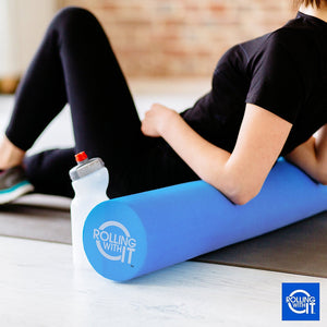 Professional Grade Foam Roller - Relieve Pain & Loosen Tight Muscles! Best Firm High Density Foam Rollers For Muscles - Look Younger & Feel Better With Eco-Friendly EVA Back Roller - Free Shipping in the US