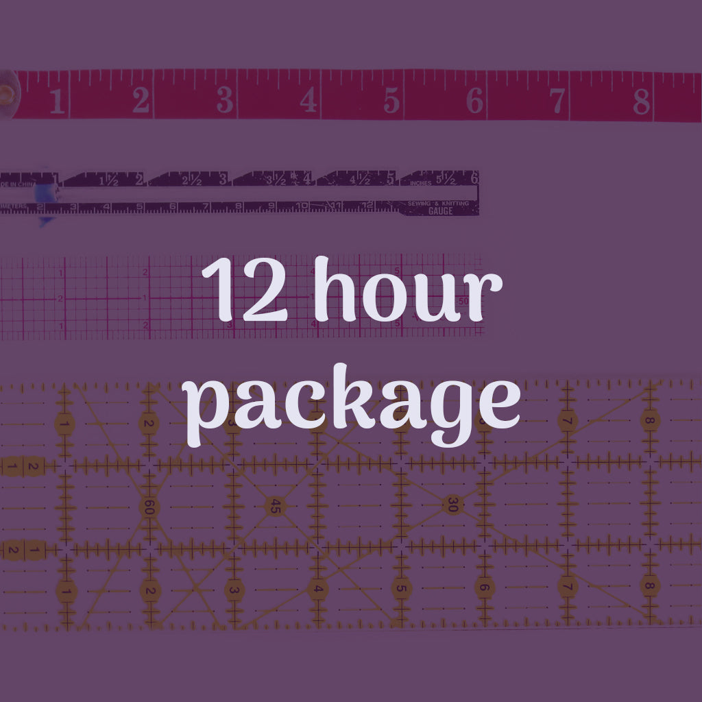 12 hour lesson package