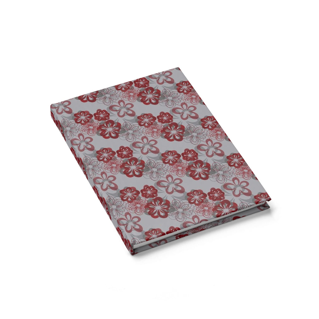 hardcover journal - persephone in red