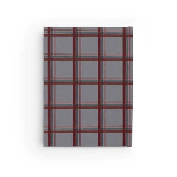 hardcover sketchbook - wednesday plaid