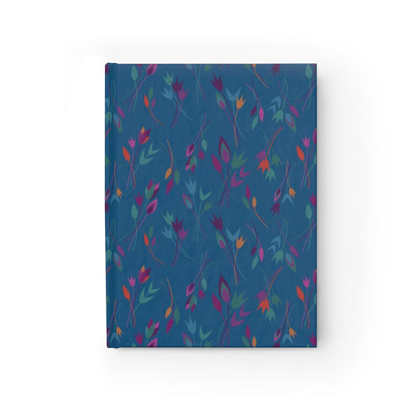 hardcover sketchbook - anjali in blue
