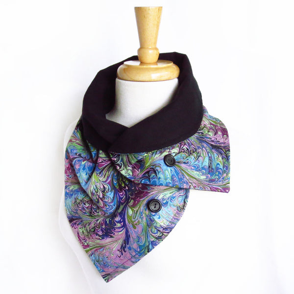 natalie button scarf