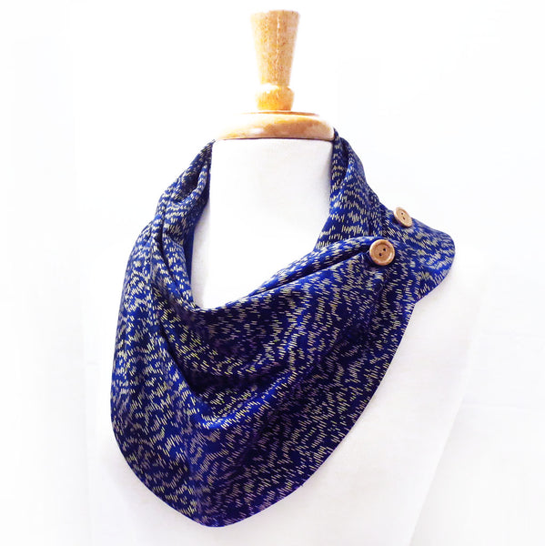 patricia button scarf