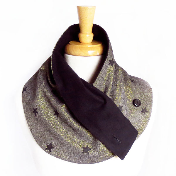 starnight button scarf