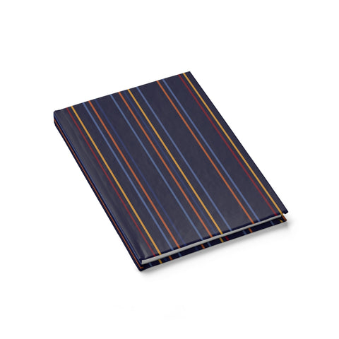 hardcover journal - sunset stripes