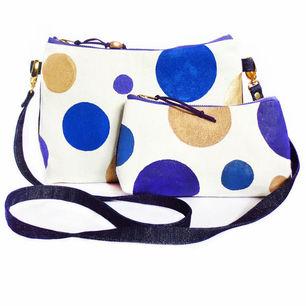 the crossbody bag with the small perfect pouch from Holland Cox