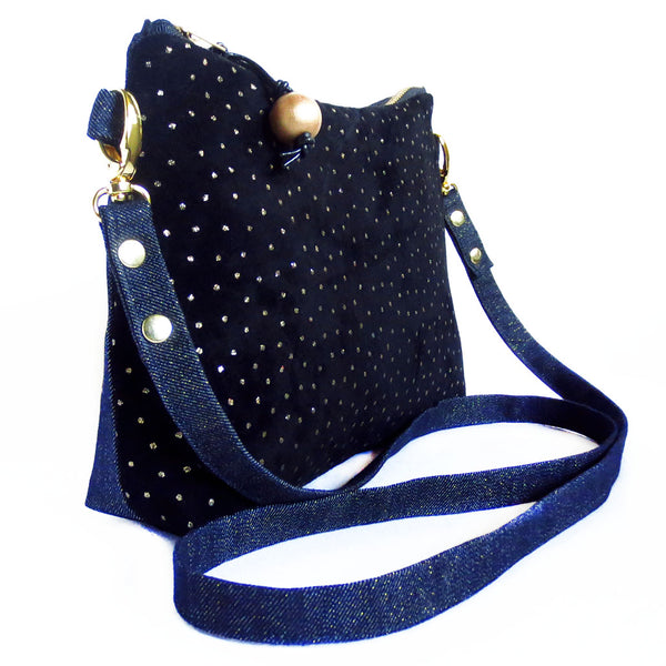 side view of the calliope crossbody bag