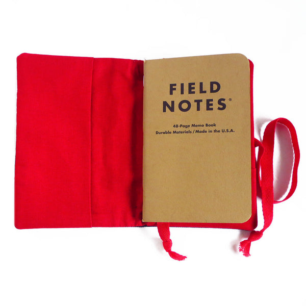 red stars & bars field notes cover