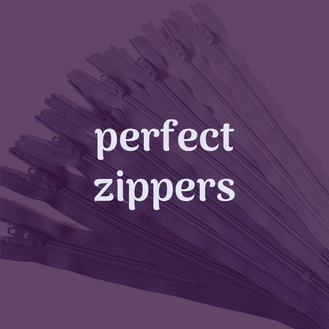 perfect zippers sewing lesson