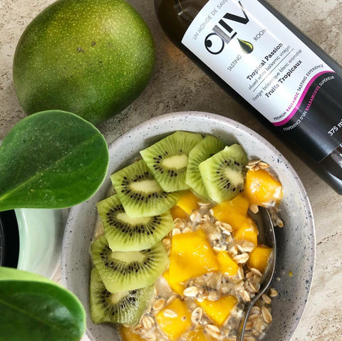 Tropical Passion White Balsamic Overnight Oats Recipe