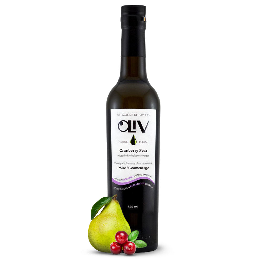 OLiV Tasting Room Cranberry Pear White Balsamic Vinegar
