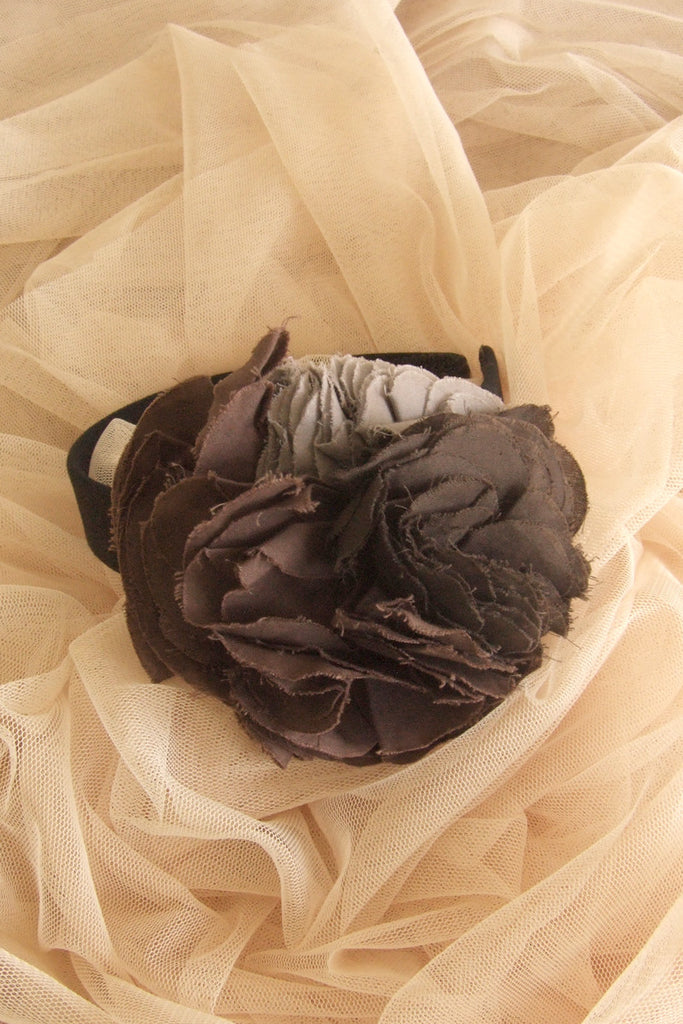 Color Mix Cotton Corsage Hair Band