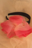 Organza Floral Hair Band