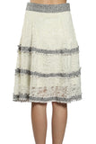 Laced Patch Lined Skirt