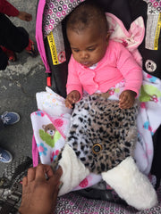 "Baby with Warmkins ""Blobz"" at LAPD Outreach - Rock of the Valley COGIC"