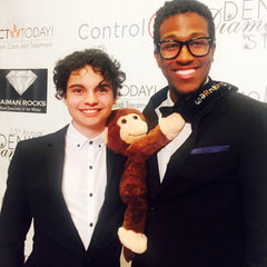 Max Burkholder - TV Parenthood Autism - ACT TODAY 10th Annual Denim, Diamonds & Stars - Therapeutic Warmkins Hugo Weighted Sensory Monkey