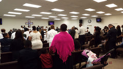 Rock of The Valley COGIC Sunday Congregation - Warmkins, LAPD