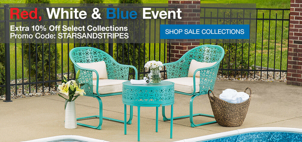 4th of July Patio Sale