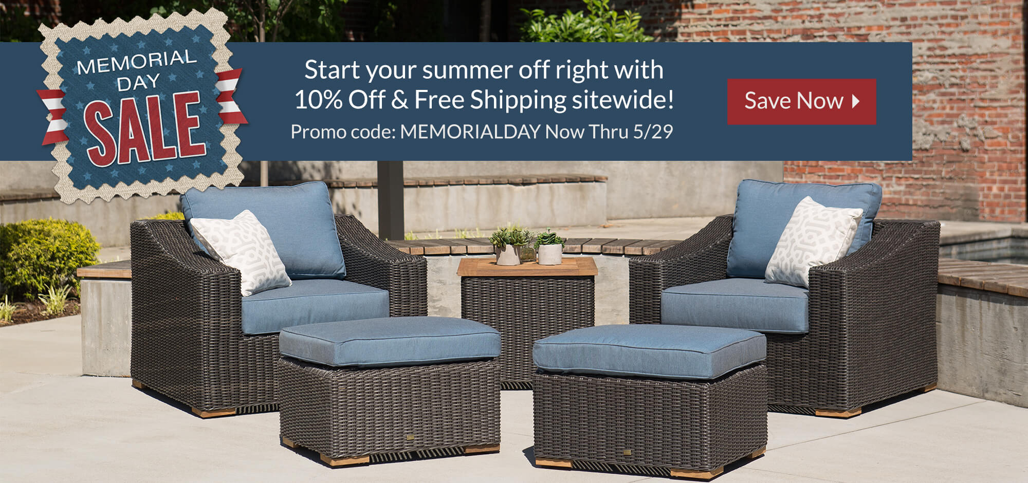 Memorial Day Sale - Free Shipping
