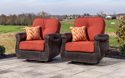 Breckenridge Swivel Rockers