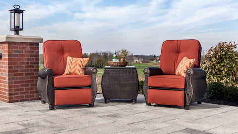 Breckenridge Recliners and Side Table