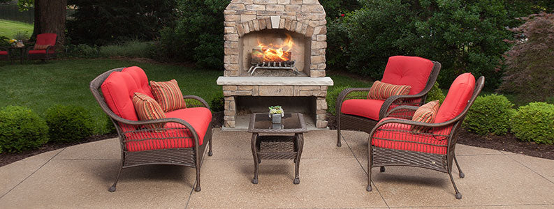 Bristol Patio 4 Piece Seating Set