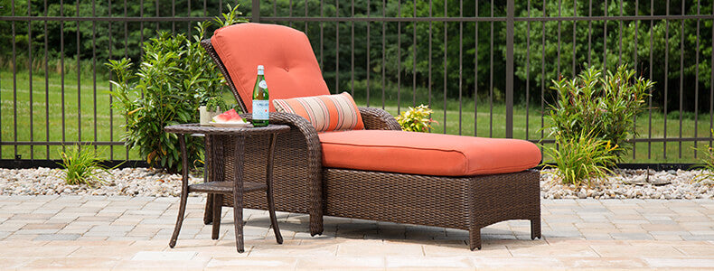 Patio Chaise Lounges La Z Boy Outdoor Furniture