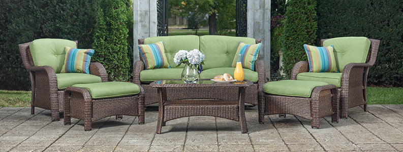Sawyer Patio Seating Set - Patio Conversation Seating Sets- La-Z-Boy Outdoor Furniture