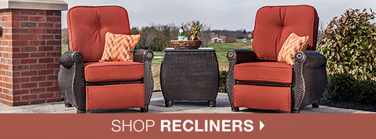 Master craftsmanship luxurious outdoor fabrics and elaborate details are comforts you expect from La-Z-Boy Outdoor quality patio furniture and outdoor ... : lazy boy patio recliners - islam-shia.org