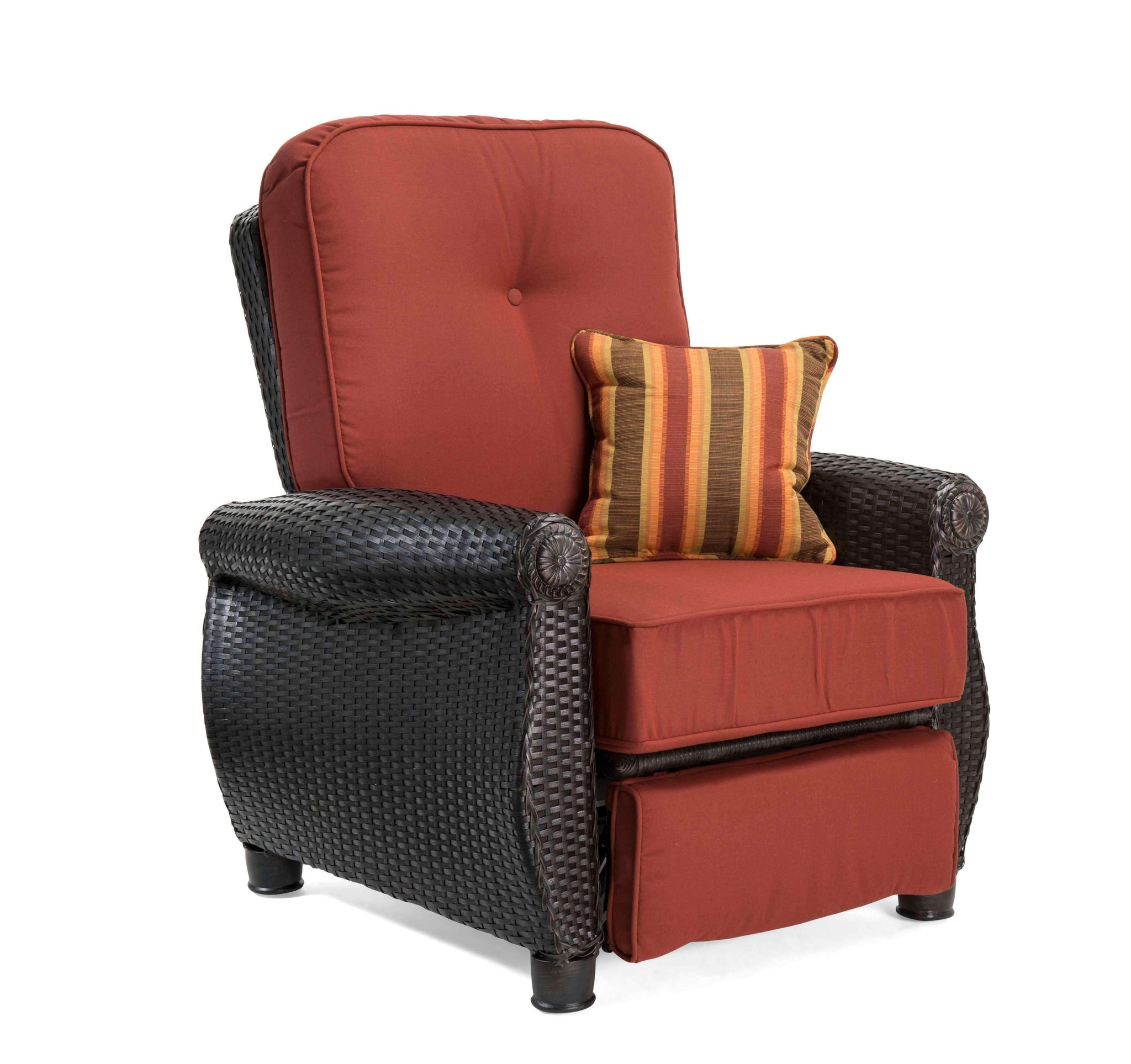 Breckenridge Patio Recliner Brick Red La Z Boy Outdoor