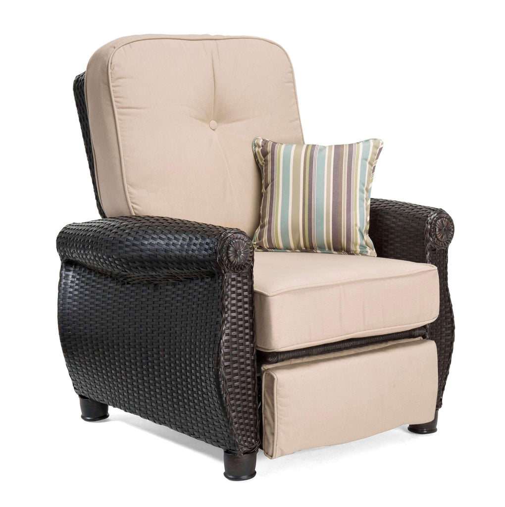 Breckenridge Patio Recliner (Natural Tan)