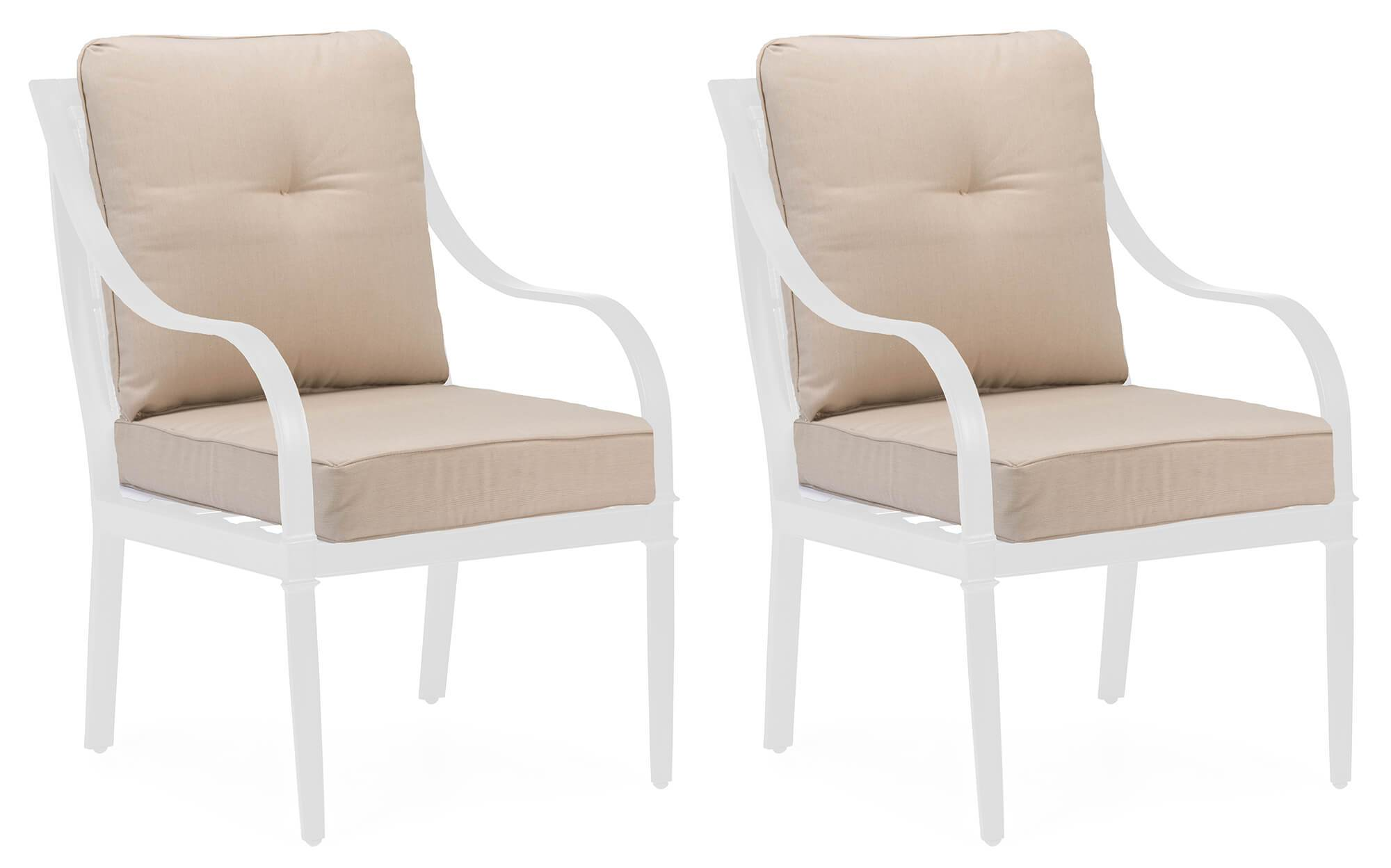Charlotte Patio Dining Chair Replacement Cushions Set Of 2