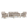 Laurel 4pc Sofa Seating (2 Lounge Chairs, 1 Sofa, 1 Coffee Table)