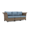 Nolin 3pc Sectional (1 Armed Corner Left, 1 Armless Center, 1 Armed Corner Right)