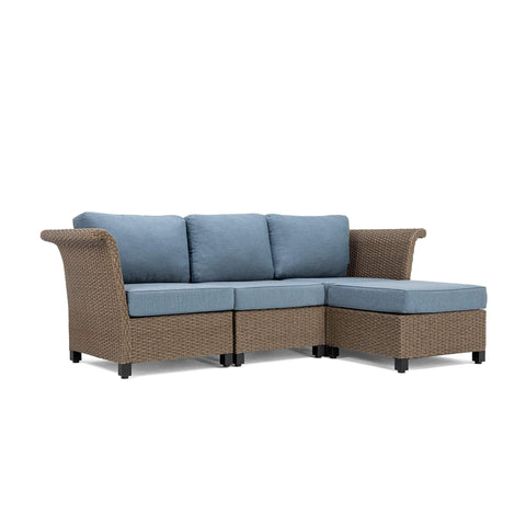 Nolin 3pc Sectional Plus 1 Ottoman (1 Armed Corner Left, 1 Armless Center, 1 Armed Corner Right, 1 Ottoman)