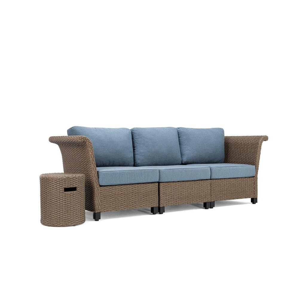 Nolin 3pc Sectional Plus 1 Side Table (1 Armed Corner Left, 1 Armless Center, 1 Armed Corner Right, 1 Side Table)