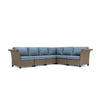 Nolin 6pc Sectional (1 Armed Corner Left, 3 Armless Centers,1 Cushioned Corner, 1 Armed Corner Right)